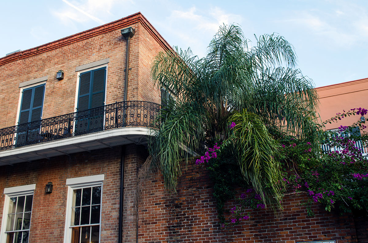 A brick building located in New Orleans Louisiana