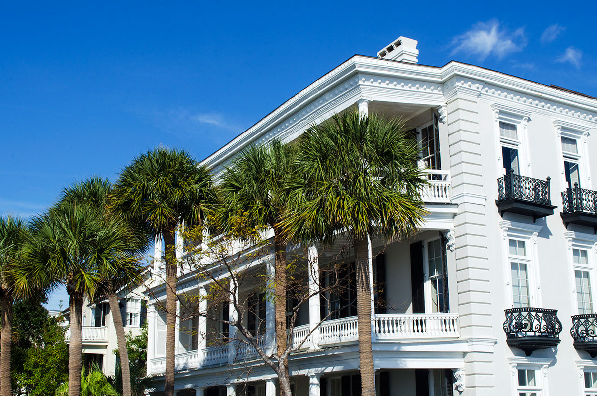 Louis DeSaussure House located at 1 East Battery Street Charleston South Carolina