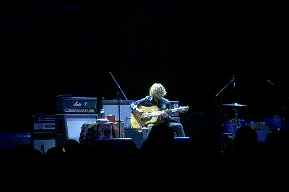John Butler performing Ocean at Madison Square Garden