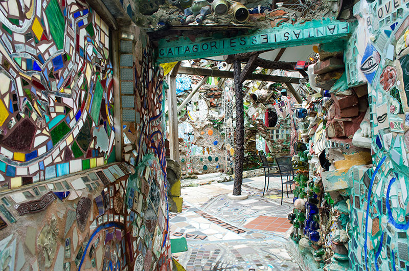 The Magic Garden in Philadelphia Pennsylvania
