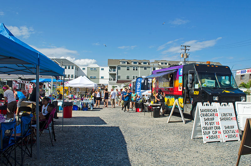 Sea Isle City Food Truck Rally Two Sided Travels