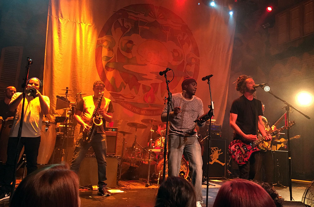 SOJA performing at the House of Blues in New Orleans Louisiana