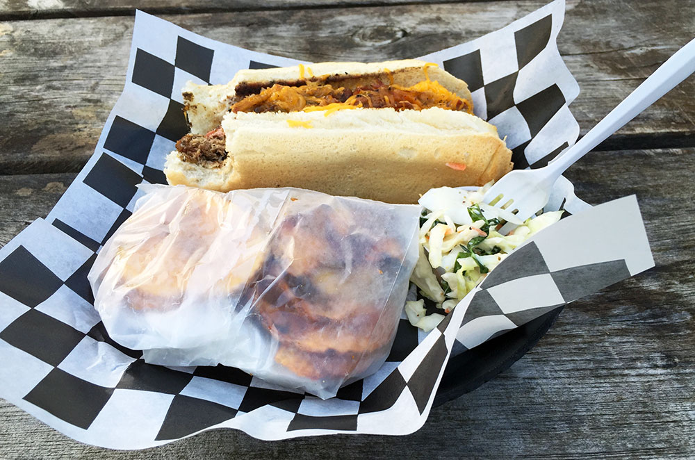 The Mount Nittany sandwich from Doans Bones near State College Pennsylvania