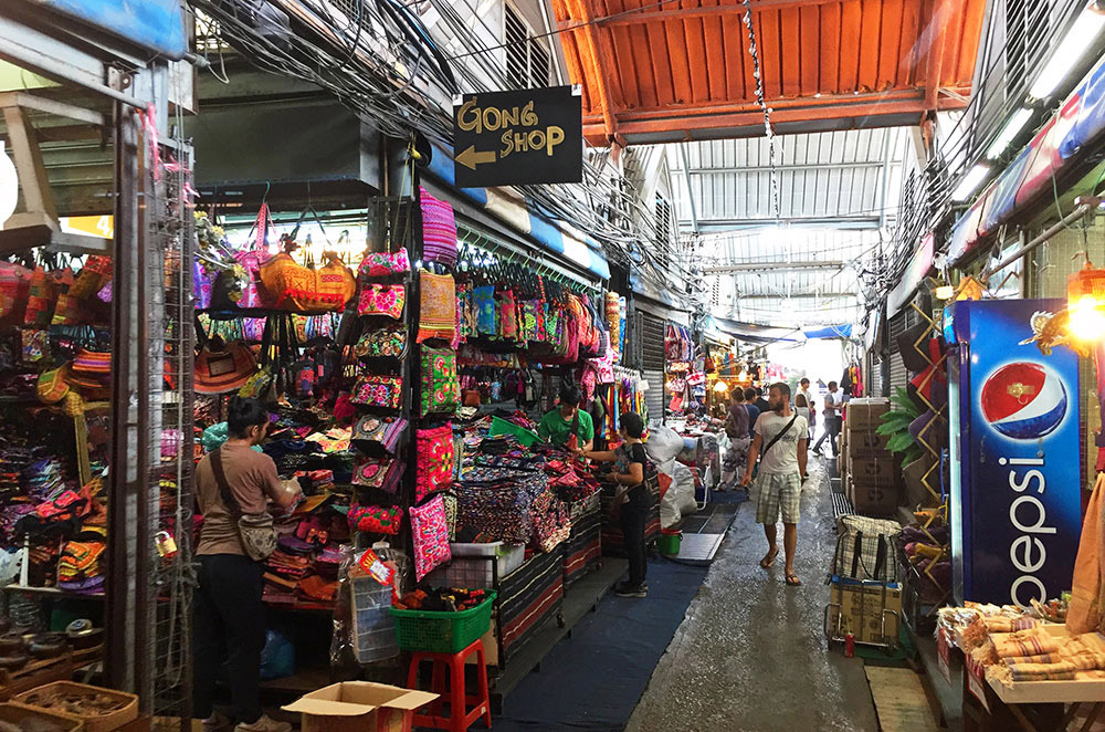 A small glimpse of the inside of Chatuchak Weekend Market