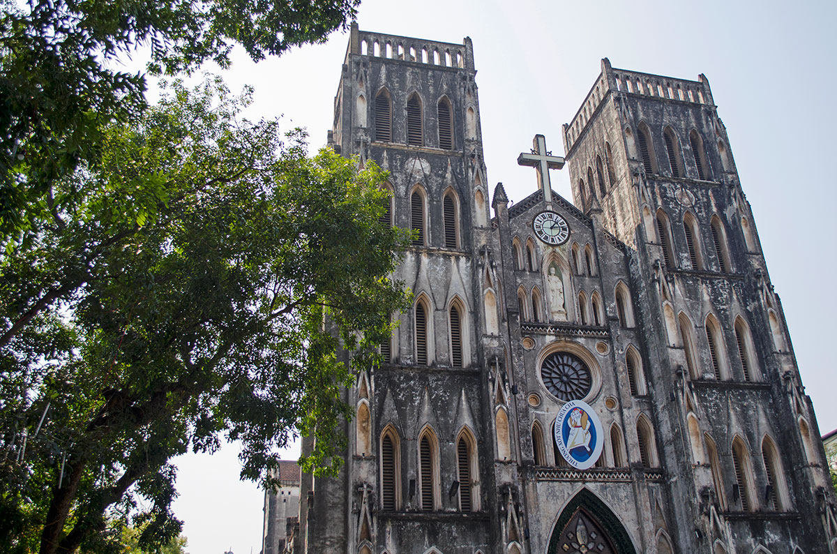 Saint Josephs Cathedral in Hanoi Vietnam