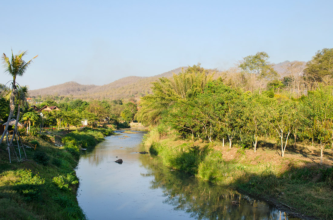 View of the Pai river